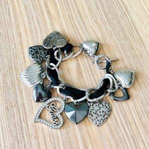Guess Hearts Bracelets